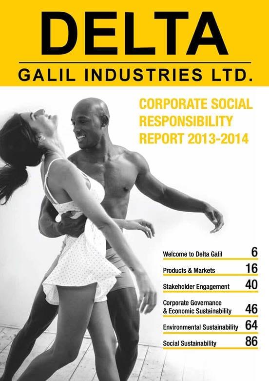 Corporate Social Responsibility report Delta
