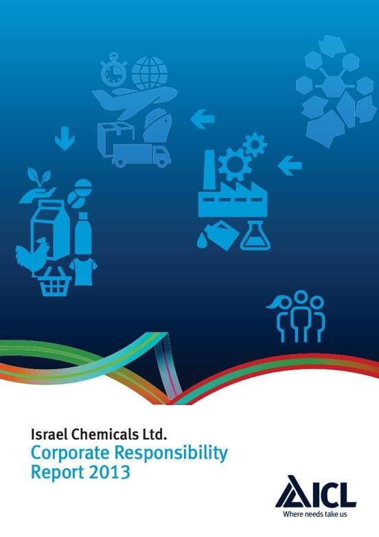 Israel Chemicals Ltd Corporate Responsibility report 2013