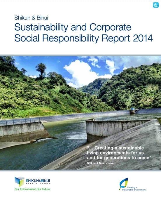 Sustainability and Social report Shikun & Binui 2014