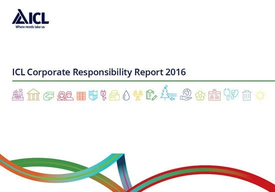 ICL Corporate Social Responsibility report 2016